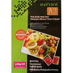 InkJet Photopapier A3 20Blatt 230g glänzend
