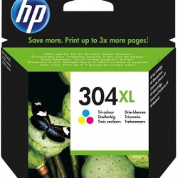 HP 304 XL Druckkopf mit Tinte farbig (N9K07AE)