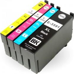 Kompatible Tinte zu Epson 35 XL schwarz