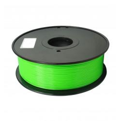 3D filament 1,75 mm PC FLUORES grün 1000g
