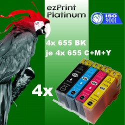 16x Patronen f. HP 655 Deskjet Ink 5525 6520 6525 4625 3525 Set Multipack CZ109