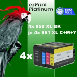 16x TINTE f. HP 950XL 951XL OfficeJet 251dw 276dw 8100 8600 8610 8615 8620 SET