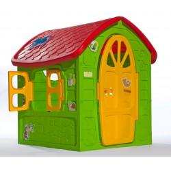 Kinderspielhaus extra groß EU-WARE mit Schaukel