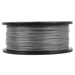 3D filament 1,75 mm TPU rubber gummi grau 800g