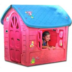 Kinderspielhaus rosa extra groß EU-WARE