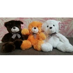 3-er Set Teddybären Plüschbär Kuschelteddy Stofftier Plüschtier Kuschelbär 22cm