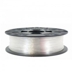 3D filament 1,75 mm P-GLASS transparent 1000g 1kg