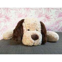 Bear toys Plüschhund Plüschtier Hund Stofftier Kuscheltier beige-braun super weich 53cm XL