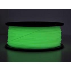 3D Filament ABS 1,75 mm Nachtleuchtend grün 1000g 1kg