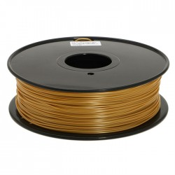 T-PLA (6x härter) Filament 1000g 1.75mm gold