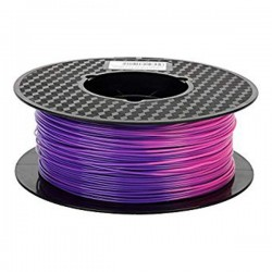 3D Filament 1,75 mm ABS Tempshift lila zu rosa 1000g 1kg