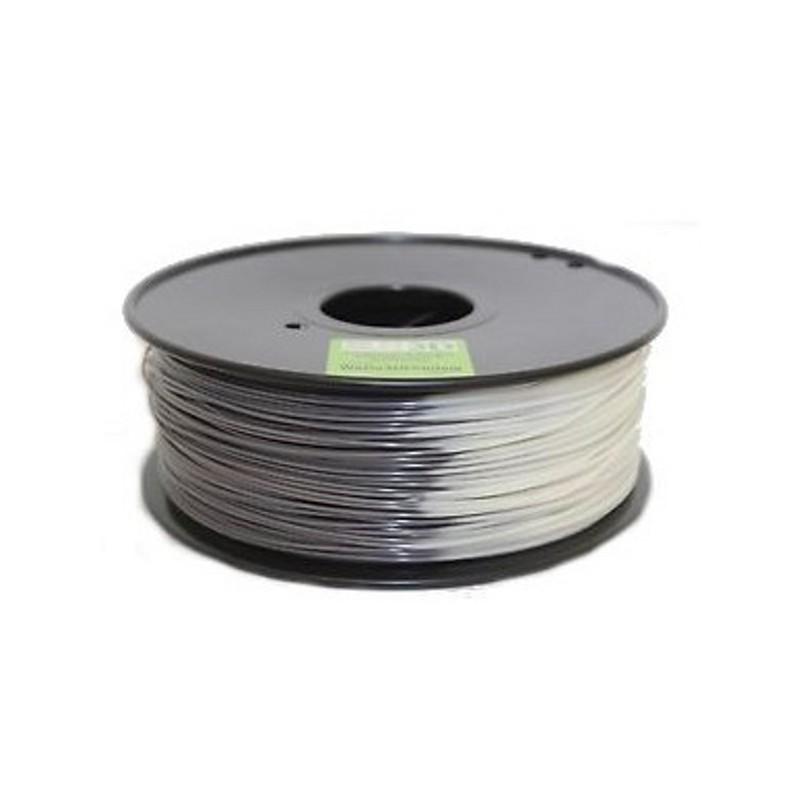 3D Filament 1,75 mm ABS Tempshift grau zu weiß 1000g 1kg