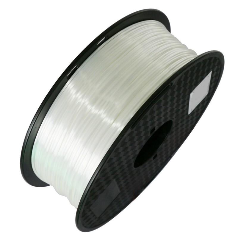 3D Filament 1,75 mm Polymer Silk weiß 1000g 1kg