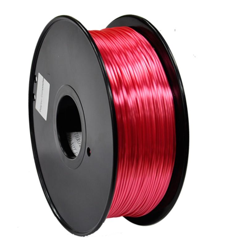 3D Filament 1,75 mm Polymer Silk rot 1000g 1kg