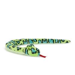 Plüschtier Schlange Anakonda Boa hellgrün super weich 100cm XL