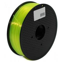 3D Filament 1,75 mm PLA TRANS gelb 1000g 1kg