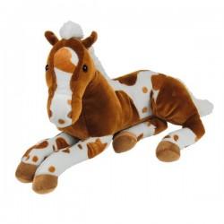 Plüschtier Pferde Baby super weich hellbraun 48cm