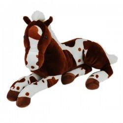 Plüschtier Pferde Baby super weich braun 48cm