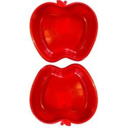Apfel Sandkasten Planschbecken XL 2x rot